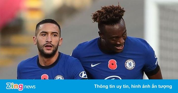 Burnley 0-3 Chelsea: Ziyech ghi bàn và kiến tạo