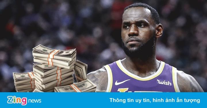 Đội hình nhận hơn một tỷ USD tiền lương tại NBA