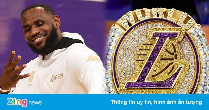 Chiếc nhẫn đính kim cương đắt nhất lịch sử NBA