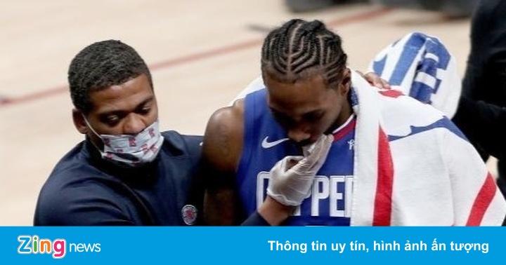 Leonard dính chấn thương trong đêm Giáng sinh tại NBA