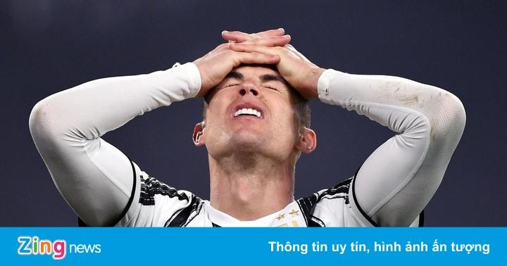 Ronaldo và đồng đội buông chức vô địch Serie A