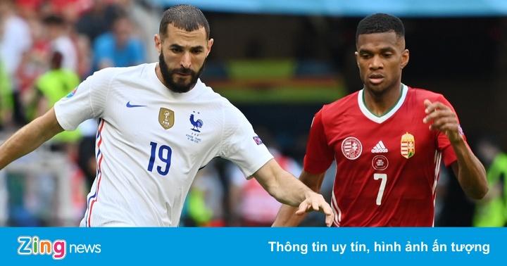 Hungary 0-0 Pháp: Mbappe, Benzema bỏ lỡ cơ hội