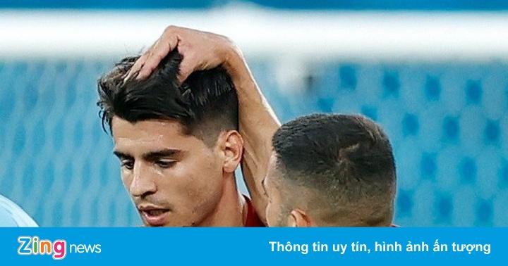Slovakia 0-0 Tây Ban Nha: Morata đá hỏng phạt đền