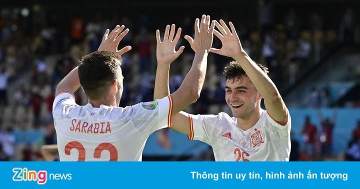 Slovakia 0-3 Tây Ban Nha: Thầy trò Enrique thăng hoa