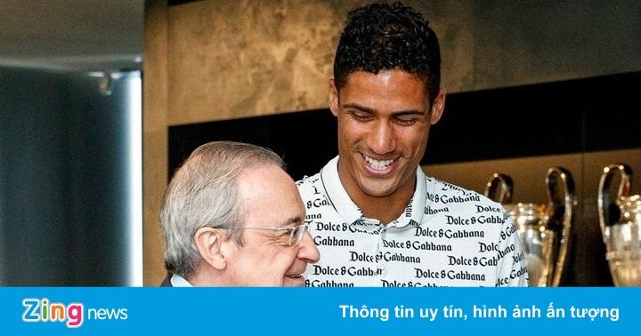 Khoảnh khắc cuối cùng của Varane ở Real Madrid
