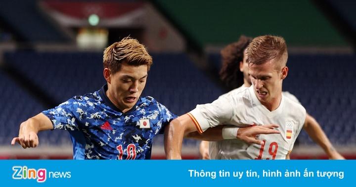 Olympic Nhật Bản 0-0 Tây Ban Nha: VAR giúp chủ nhà thoát phạt đền