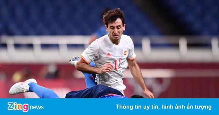 Olympic Nhật Bản 0-0 Tây Ban Nha: Chủ nhà chơi kiên cường