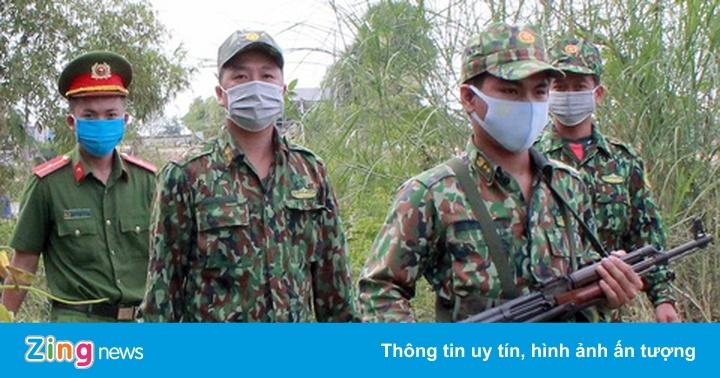 Năm người Trung Quốc vượt biên trái phép
