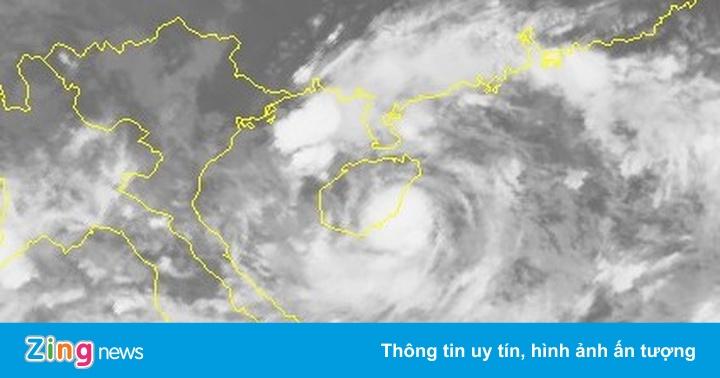 Bão số 3 tăng cấp 9, hướng vào Thái Bình – Hà Tĩnh