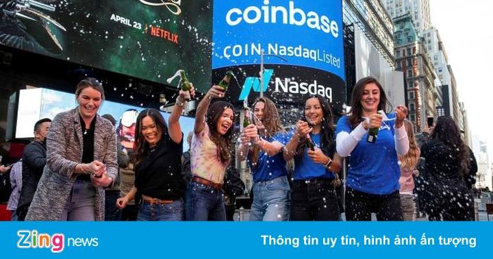 IPO thành công, Coinbase được định giá 86 tỷ USD - ceo tống đông khuê