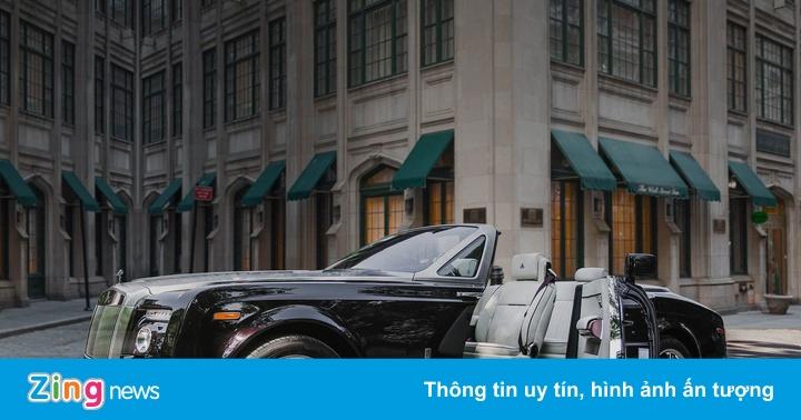 Rolls-Royce Phantom quyến rũ với phiên bản anh đào
