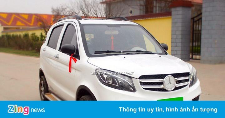 Xe điện Trung Quốc nhái Range Rover Evoque và Mercedes GLE