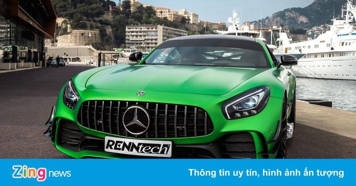 Mercedes-AMG GT R bản độ ra mắt, công suất cực mạnh