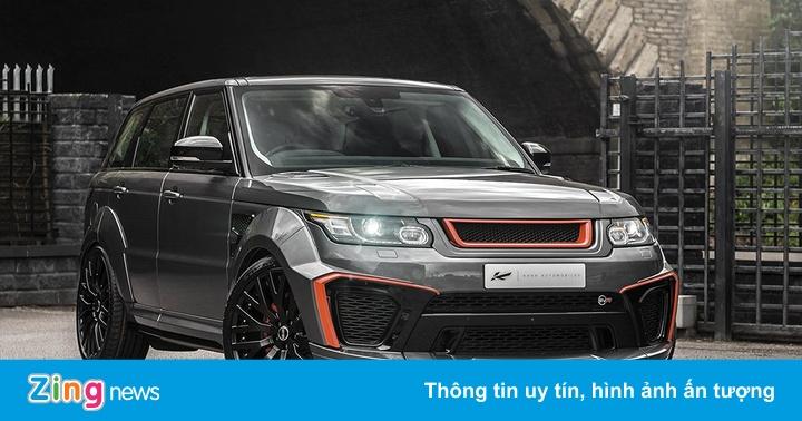 Range Rover Sport SVR cá tính của xưởng độ Anh quốc
