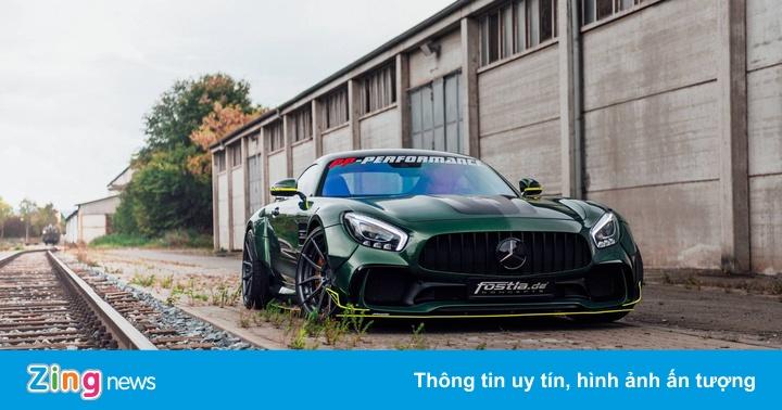 Mercedes-AMG GT thân bọc vinyl đặc biệt