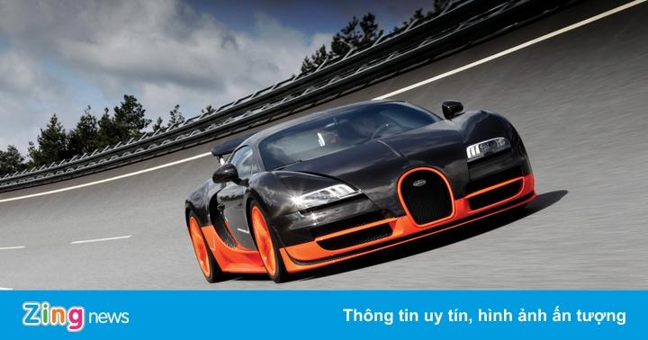 Thay bình nhiên liệu cho Bugatti Veyron tương đương một con xe sang