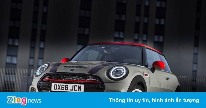 Mini Cooper phiên bản xe điện hiệu suất cao sắp ra mắt