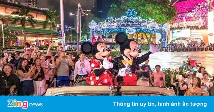 Tạm biệt năm cũ và đón năm mới tưng bừng như người Singapore