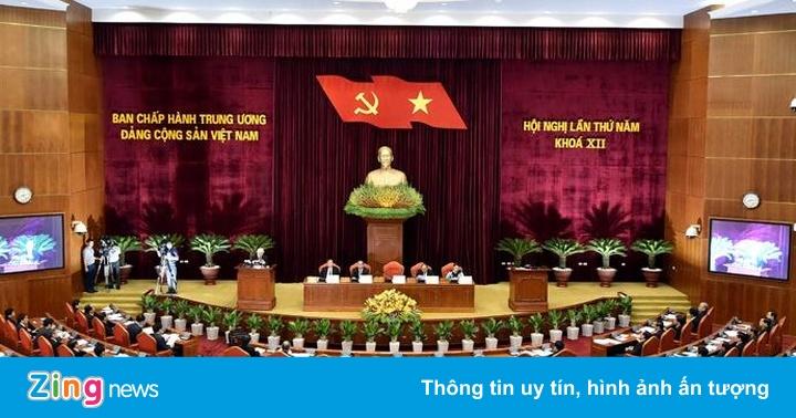 Hội nghị Trung ương 5 bàn về kinh tế và xem xét kỷ luật cán bộ