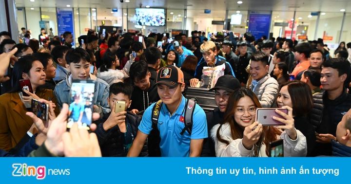 U23 Việt Nam được người hâm mộ chào đón sau thất bại - xs thứ hai