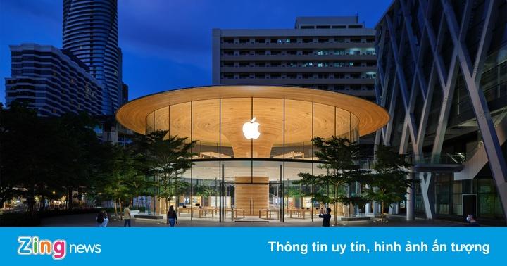 Bên trong Apple Store mới giống phi thuyền ở Thái Lan