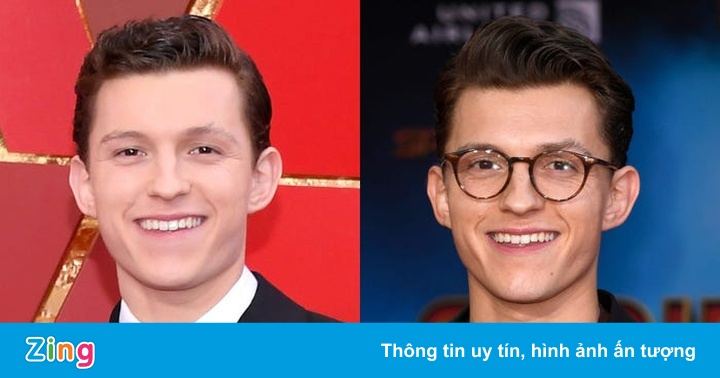 Tom Holland và dàn sao Hollywood trông đẹp hơn khi đeo kính