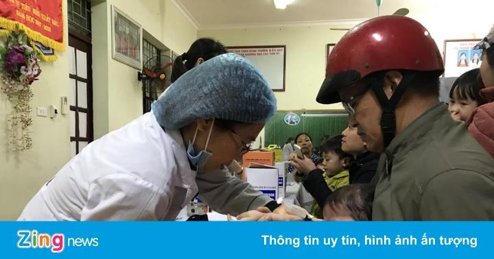 Hàng trăm học sinh tiếp tục được xét nghiệm sán lợn tại Bắc Ninh