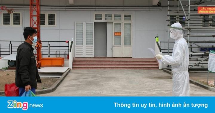 Bệnh viện dã chiến số 3 Hải Dương tiếp nhận bệnh nhân đầu tiên - quE1BAA3ng20cC3A1o20pqa20lE1BBABa20C491E1BAA3o