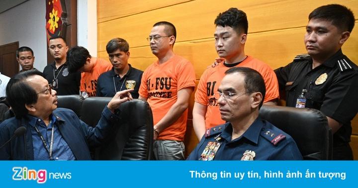 Cảnh sát bắt cóc thuê cho băng đảng ''cá mập'' TQ ở Philippines