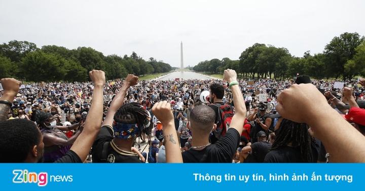 Hàng chục nghìn người biểu tình ở Washington và trên khắp nước Mỹ