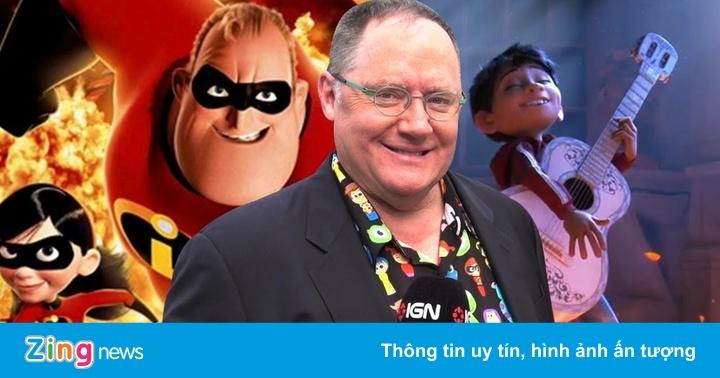 'Ông trùm' Pixar đầu quân hãng khác sau cáo buộc quấy rối tình dục