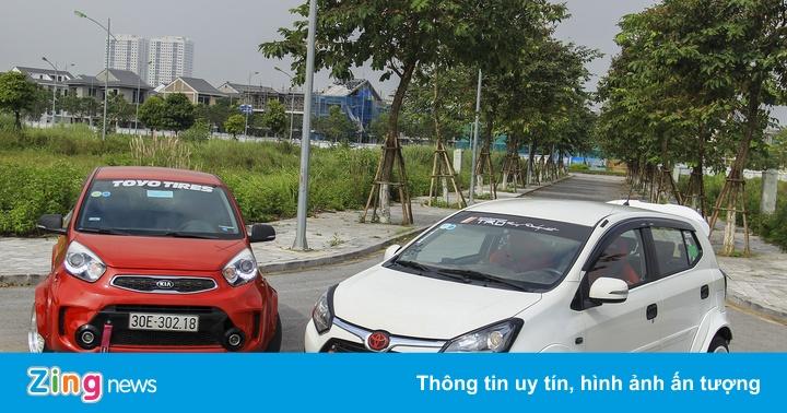 Toyota Wigo, Kia Morning độ thân rộng tốn 40 triệu đồng