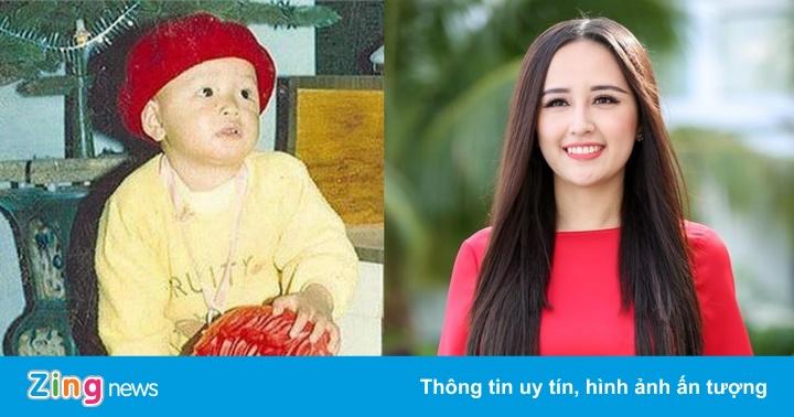 Ảnh thời thơ ấu xinh xắn và đáng yêu của dàn hoa hậu, á hậu Việt