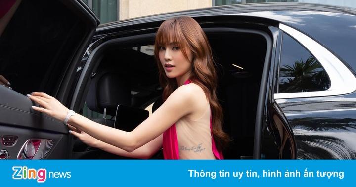 Ninh Dương Lan Ngọc mua hàng hiệu tự thưởng dịp 20/10
