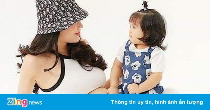 Diệp Lâm Anh công khai giới tính con thứ 2 với chồng thiếu gia