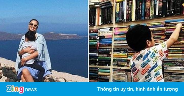 Chồng Hà Tăng khoe ảnh con trai ngày càng lớn phổng phao