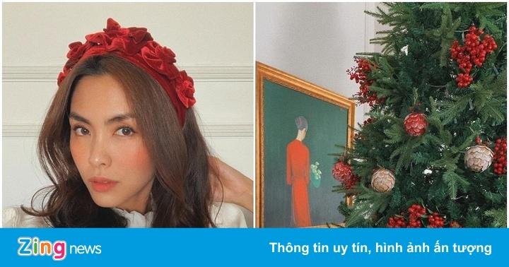 Tăng Thanh Hà và dàn sao trang hoàng nhà cửa đón Giáng sinh