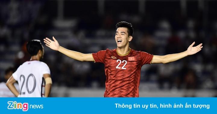 Dàn sao ăn mừng khi U22 Việt Nam vào chung kết SEA Games