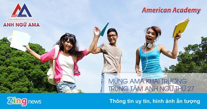 AMA tặng học bổng dịp khai trương chi nhánh mới - Thông tin doanh nghiệp -  ZING.VN