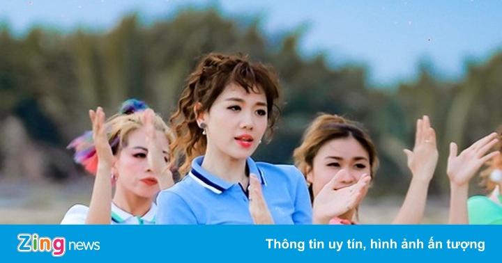 Hari Won sử dụng sản phẩm thời trang Việt Couple TX trong MV mới
