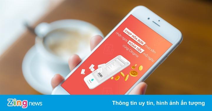 Ứng dụng Clingme ra mắt tính năng hoàn tiền cho mọi hóa đơn