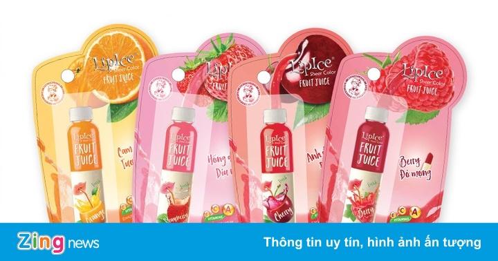 Son nước ép trái cây của LipIce ghi điểm nhờ màu xinh, vỏ đẹp - Thông tin doanh nghiệp