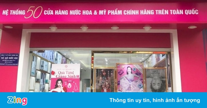 Thế Giới Nước Hoa hoa tung clip mừng khai trương 8 cửa hàng