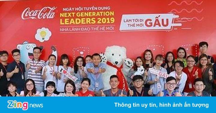 Coca-Cola chi hơn 1,4 triệu USD phát triển nhân sự Việt mỗi năm