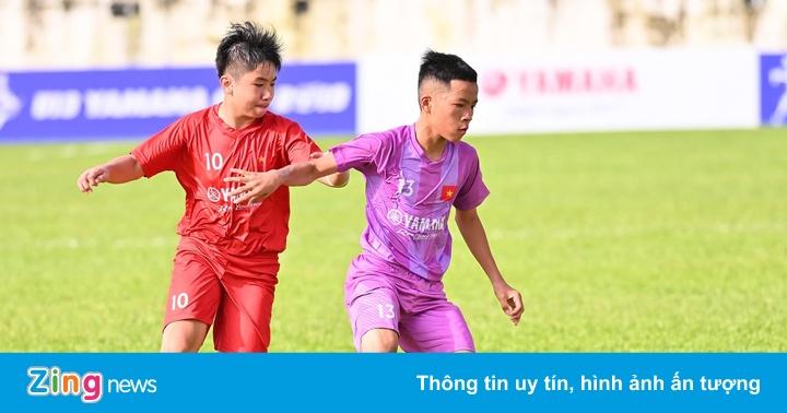 8 đội bóng Gia Lai tranh tài gay cấn trong giải U13 Yamaha Cup 2019