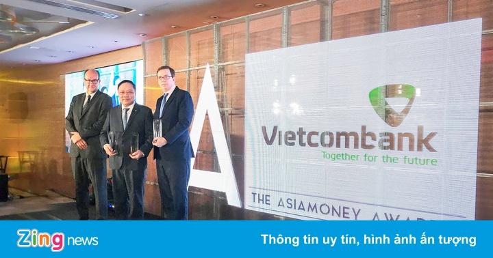 Vietcombank nhận giải ngân hàng tốt nhất, công ty tài chính nổi bật