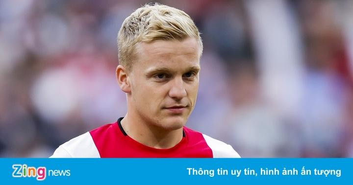 Tiền vệ Van de Beek được kỳ vọng tại giải Ngoại hạng Anh