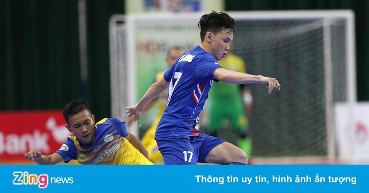 Kardiachain Sài Gòn hòa kịch tính 3-3 Sanvinest Sanna Khánh Hòa
