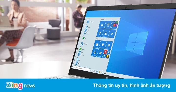 Laptop HP 15s: Màn hình lớn, mỏng nhẹ, giá 11,39 triệu