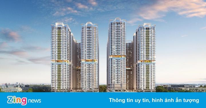 Kiến trúc của dự án 8 tòa tháp cao 40 tầng tại Bình Dương